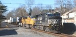 NS 212 passes thru the Main Street grade crossing at LEHL's MP 48